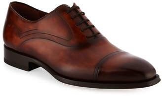 Magnanni Cap-Toe Leather Oxford Shoe
