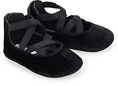 Ralph Lauren Baby's Priscilla Velvet Ballet Flats