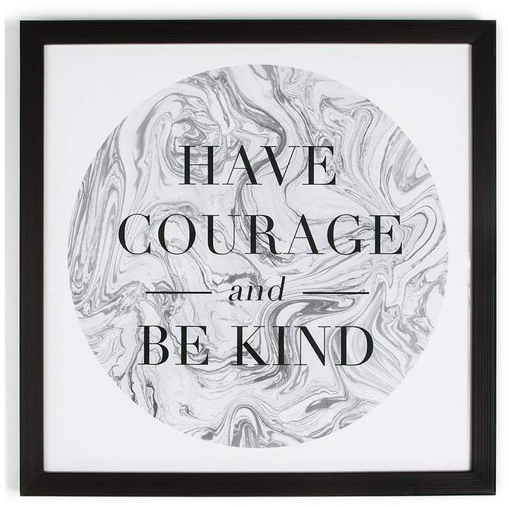 Have Courage Framed Wall Art