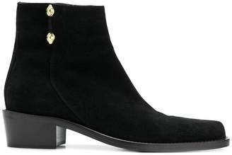 Just Cavalli zipped ankle boots