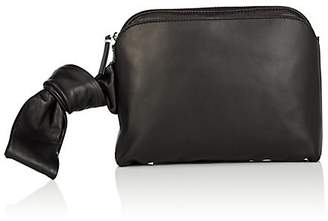 The Row Women's Puffy Leather Wristlet
