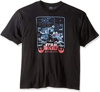 Star Wars Men's Rogue One Got Plans Rebel T-Shirt