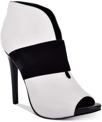 GUESS Women Addon Peep Toe Shooties Women Shoes