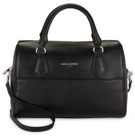 Karl Lagerfeld Hermine Split Leather Satchel