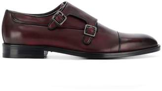 Canali leather buckle brogues