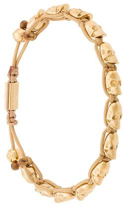 Nialaya Jewelry skull beaded bracelet
