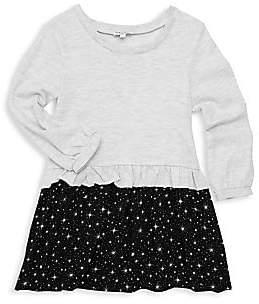 Splendid Little Girl's Star-Print Dress