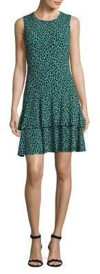 MICHAEL Michael Kors Printed Sleeveless Dress