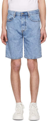 Diesel Blue Denim D-Mirk Shorts