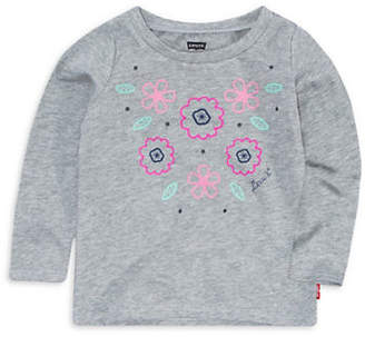 Levi's Baby Girl's Graphic Cotton Top