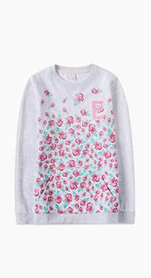 Esprit Long sleeve printed sweatshirt