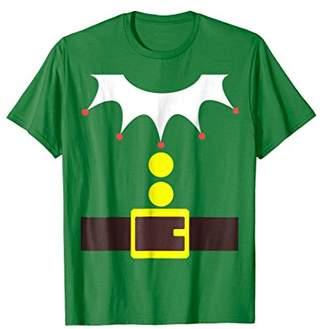 Elf Costume TShirt Funny Christmas / Xmas Santa Helper Shirt