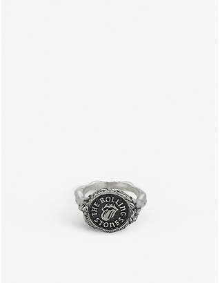 Jade Jagger The Rolling Stones x medallion ring