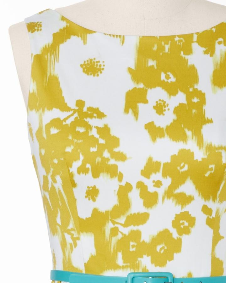 Coldwater Creek Ikat floral sundress