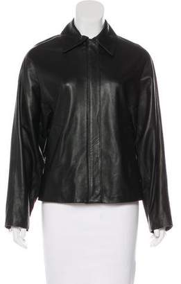 Topshop Casual Leather Jacket