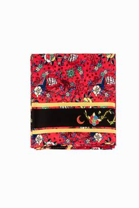 Zadig & Voltaire Lotty Circus Tattoo Scarf