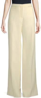 Burberry Women's Wide-Leg Wool-Silk Pants
