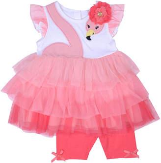 Nanette Baby 2-pc. Short Set Baby Girls