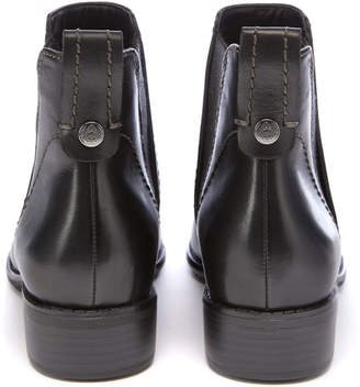 Tu Clothing Black Sole Comfort Leather Chelsea Ankle Boot