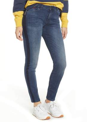 Tommy Jeans Santana High Waist Skinny Jeans (Neddle) (Nordstrom Exclusive)