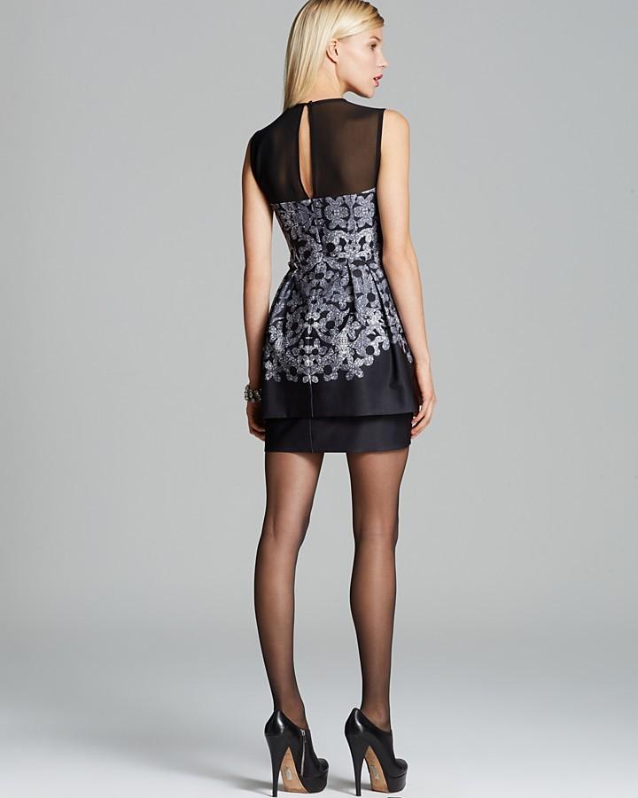 Nanette Lepore Dress - Romantic Printed Layered Hem