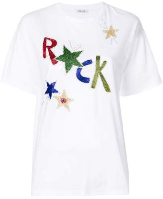 P.A.R.O.S.H. Rock embellished T-shirt