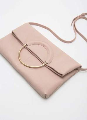 Mint Velvet Penelope Nude Ring Clutch Bag