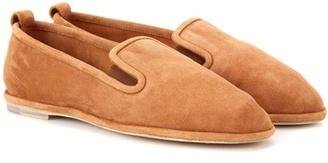 Fleurus leather slippers