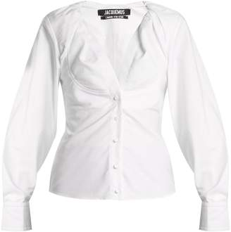 Jacquemus La Chemise Jacqueline oxford-cotton shirt