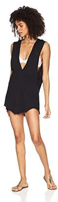 Hurley Women's Apparel Women's Good Times Beach Cover-up Cotton Dress