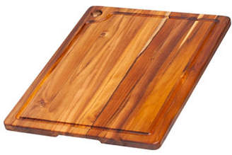 "Proteak TEAKHAUS BY Rectangle Edge 18"" Grain Wood Cutting Board"