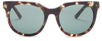 Von Zipper Jeeves 51mm Round Retro Sunglasses