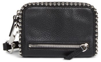 Women's Alexander Wang Fumo Studded Leather Wristlet - Black