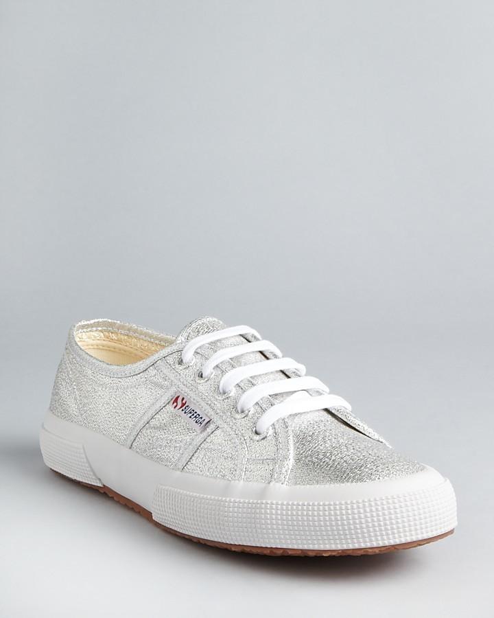 Superga Classic Lamé Sneakers