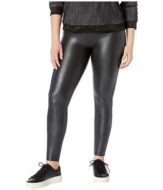 Spanx Plus Size Faux Leather Pebbled Leggings