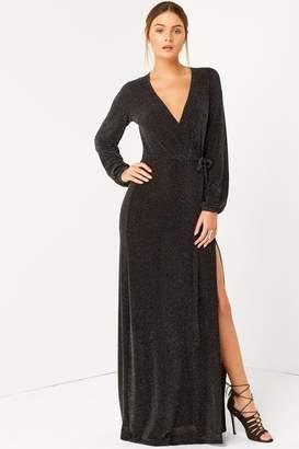 Girls On Film Outlet Black Maxi Dress