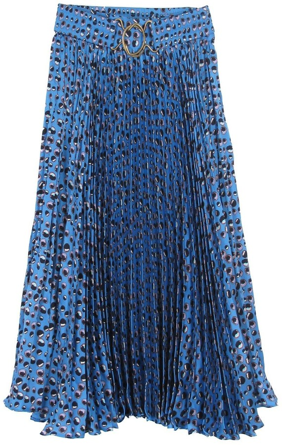 Tucker Exclusive Pleated Skirt