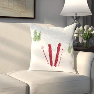 Three Posts Broadcommon Winter Pillow Cover