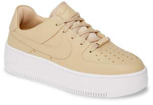 Nike Force 1 Sage Low 2 Platform Sneaker