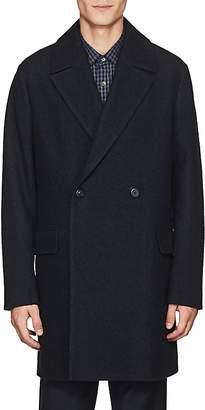 Theory Men's Keith Wool-Blend Bouclé Twill Coat