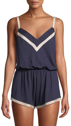 Cosabella Bella Jersey Teddy with Contrast Trim