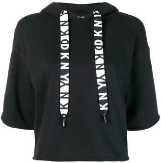 DKNY short-sleeve hoodie