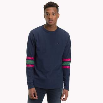 Tommy Hilfiger Multi-Colour Stripe Sleeve Top