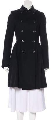Thakoon Angora-Blend Double-Breasted Coat