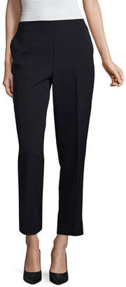 Liz Claiborne Classic Fit Pull On Ankle Pants