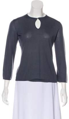 Barneys New York Barney's New York Casual Long Sleeve Top