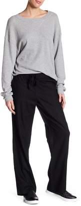 Susina Solid Linen Blend Drawstring Pants (Regular & Petite)
