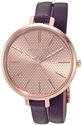 Michael Kors Women's Jaryn Purple Watch MK2576