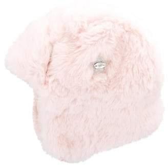 Ikks Girls' Faux Fur Trapper Hat