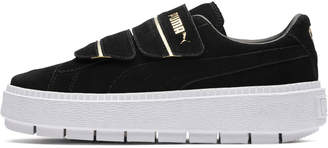 Platform Trace Strap Womens Sneakers